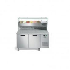 AFINOX FRESH PIZZA 2P - Tavoli refrigerati 7SP72IP4KN001